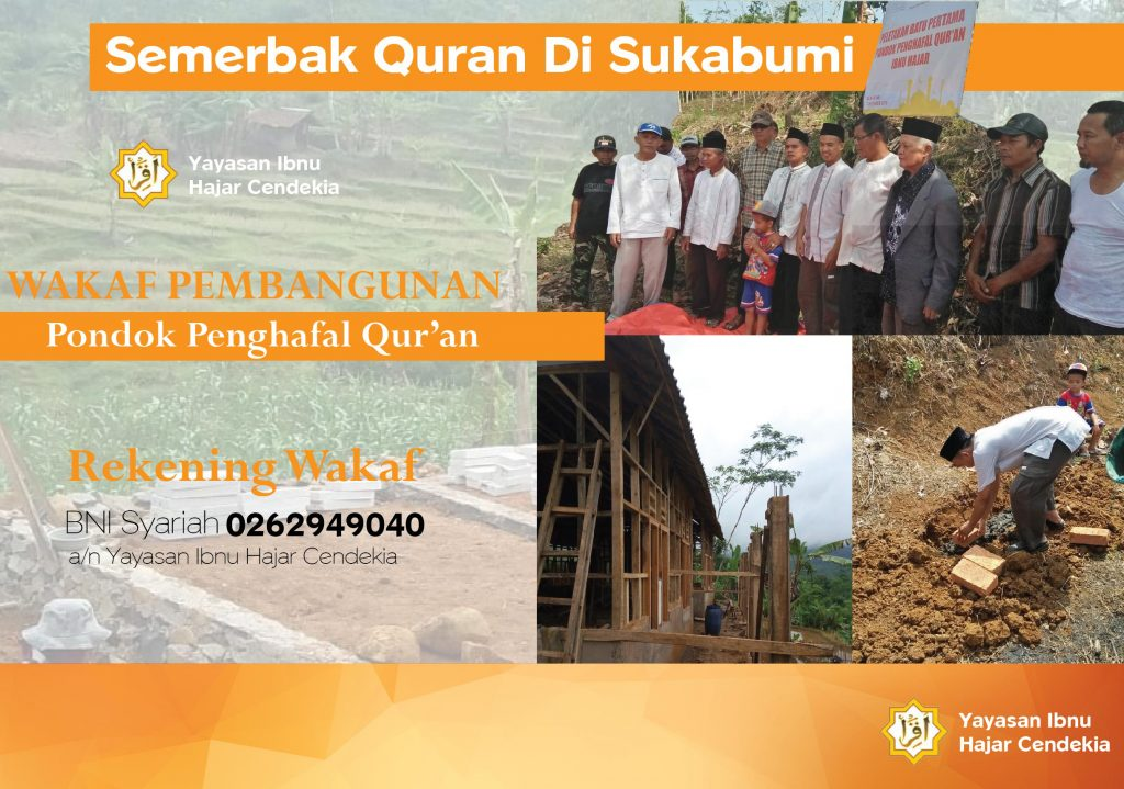 Pondok Penghafal Qur'an Tahfizh Sukabumi